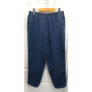 Vintage Allison Daley Petite Denim Pants